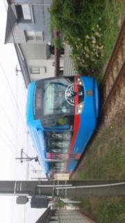 富山県射水市 ドラえもん電車
